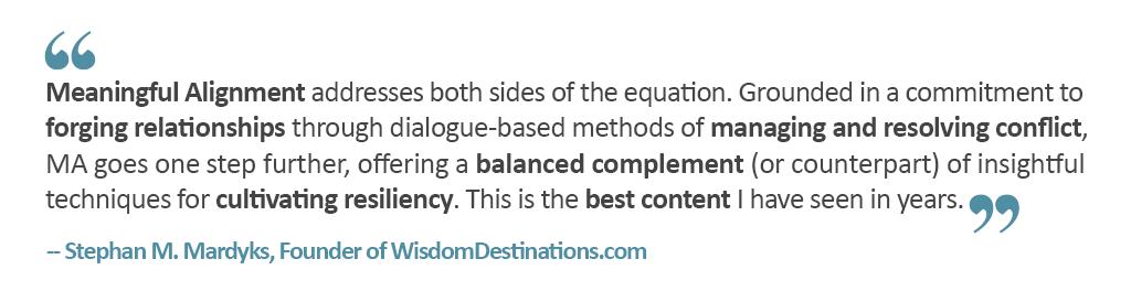Stephan M. Mardyks, Founder of WisdomDestinations.com
